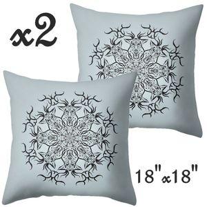 Set- 2 Illusion Christmas Pillow Covers